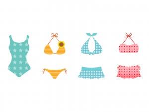 水着を着こなすための水着の上手な選び方は?体型カバー術とは?