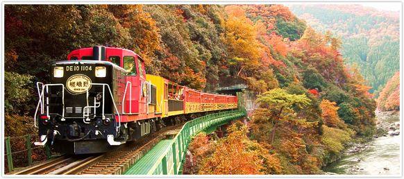 列車 予約 トロッコ 京都